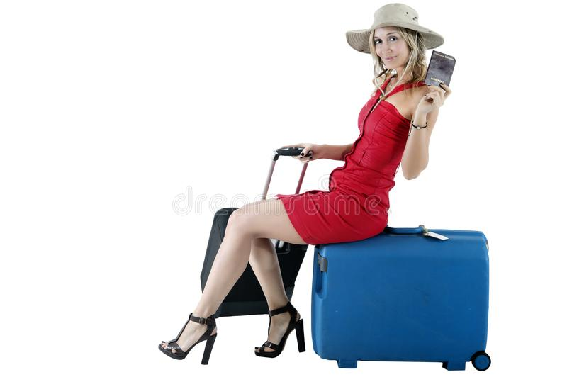 Download Traveling woman stock photo. Image of cash, destination - 19092906
