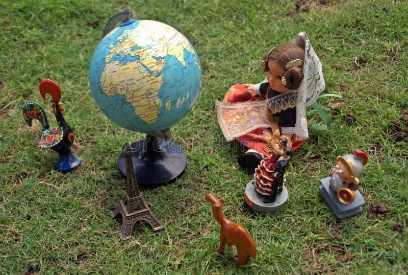 Traveling worldwide stock images