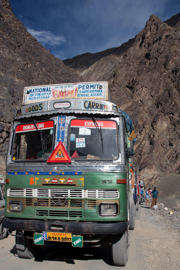 Download Travelling around ladakh editorial stock photo. Image of road - 14304638