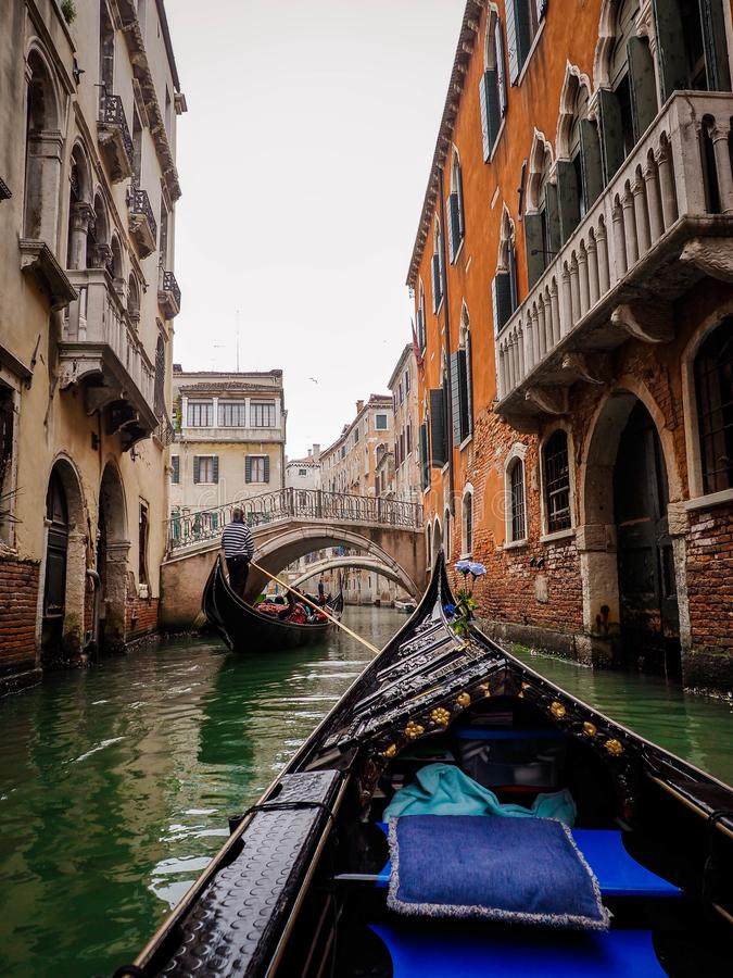 Thinking of Venice , Think about romantic time. stock photo