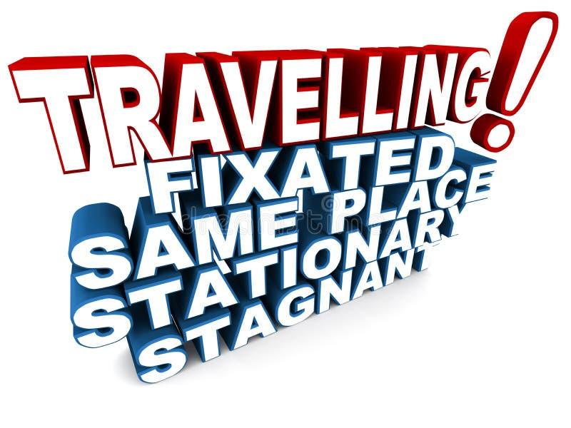 Travelling stock illustration