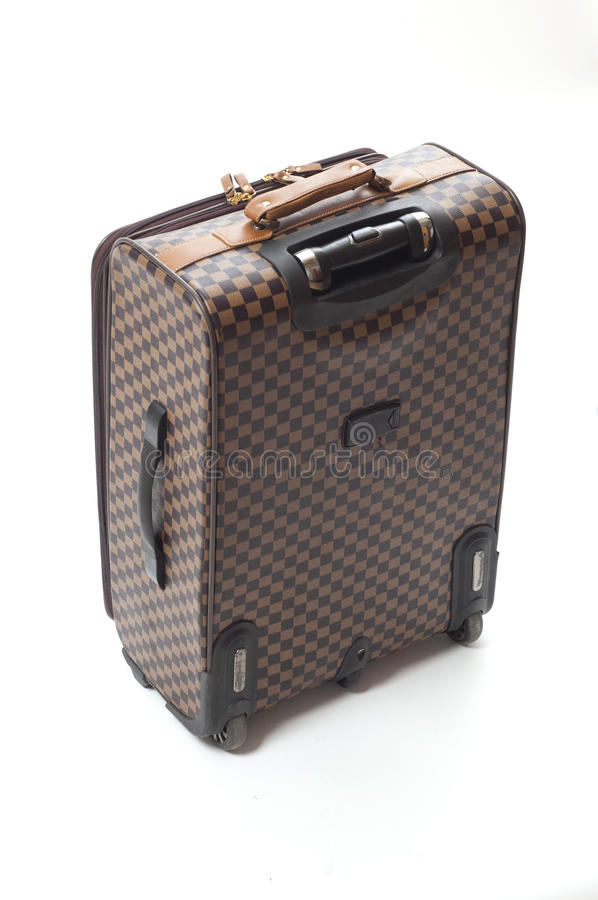 Download Travelling bag stock image. Image of checked, case, travelling - 30372291