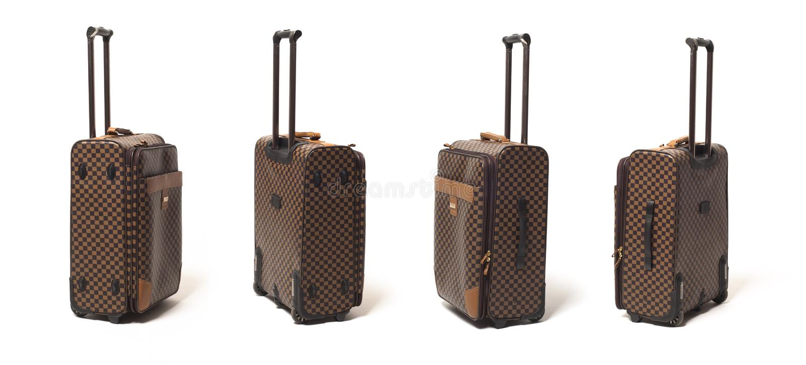 Download Travelling bag stock image. Image of road, chequered - 30372351