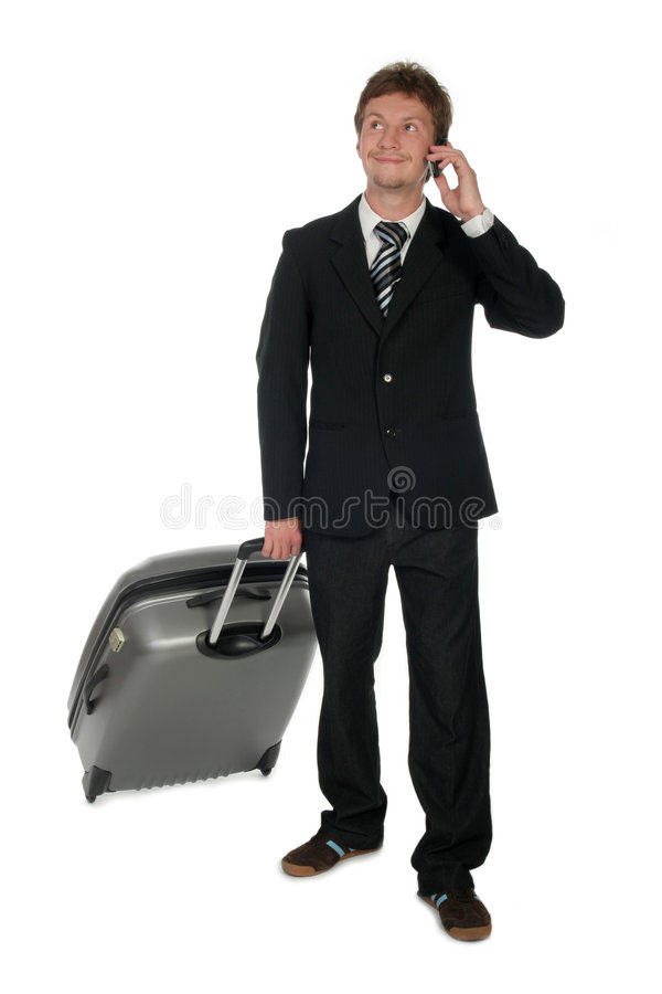 Travelling Businessman stock photo