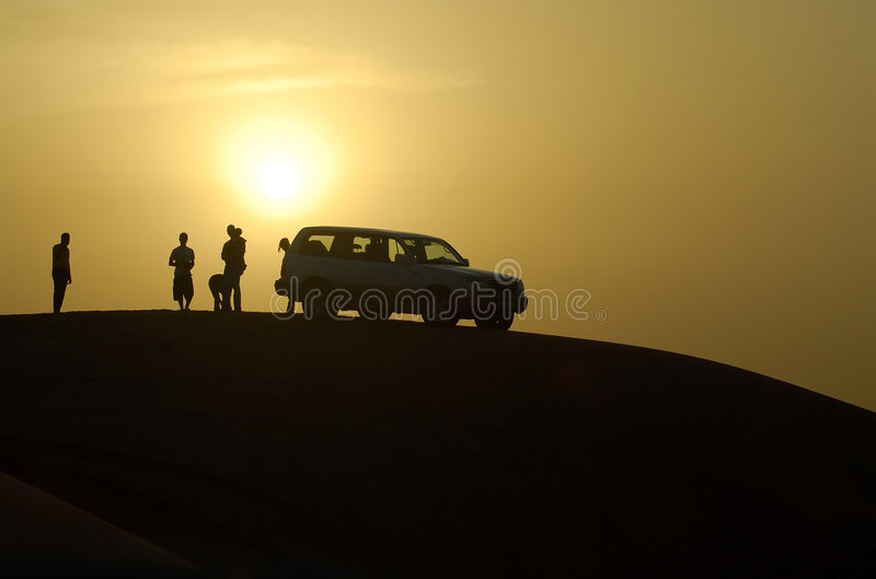 Download Travelling in the desert stock image. Image of adventure - 1393805