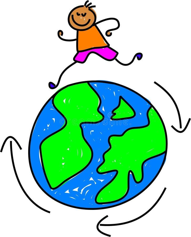 Download Travelling kid stock illustration. Illustration of infants - 892721