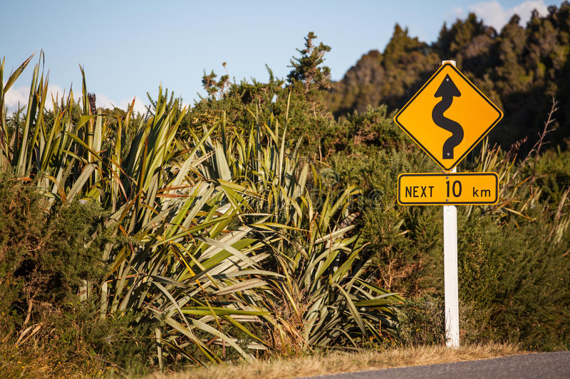Travelling In New Zealand Stock Photography
