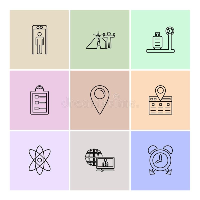 Travelling , travel , location , navigation , shopping , eps icons set vector. Travelling , travel , location , navigation , shopping , map , destination , cart vector illustration
