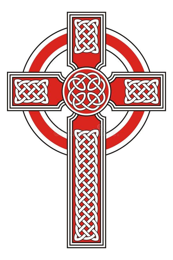 Traversa celtica royalty illustrazione gratis