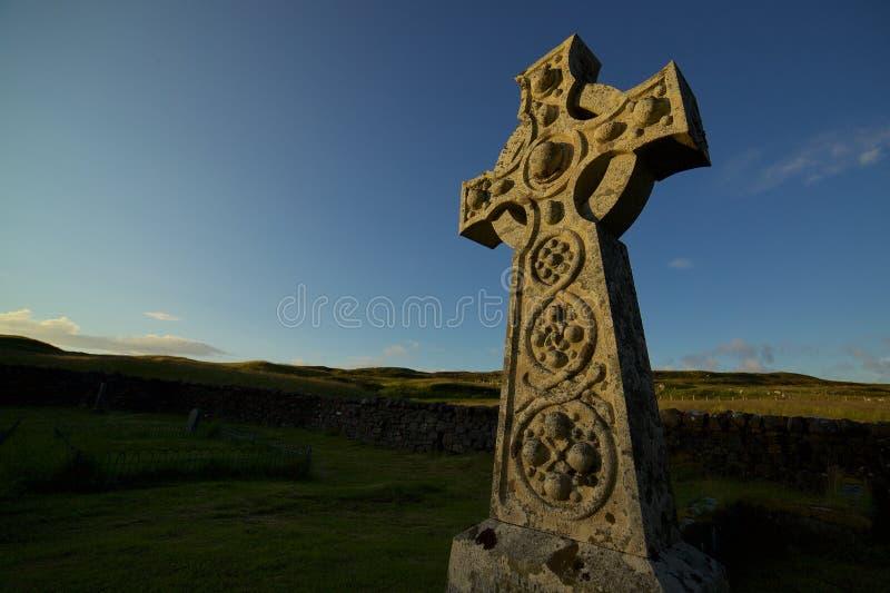 Traversa celtica fotografie stock