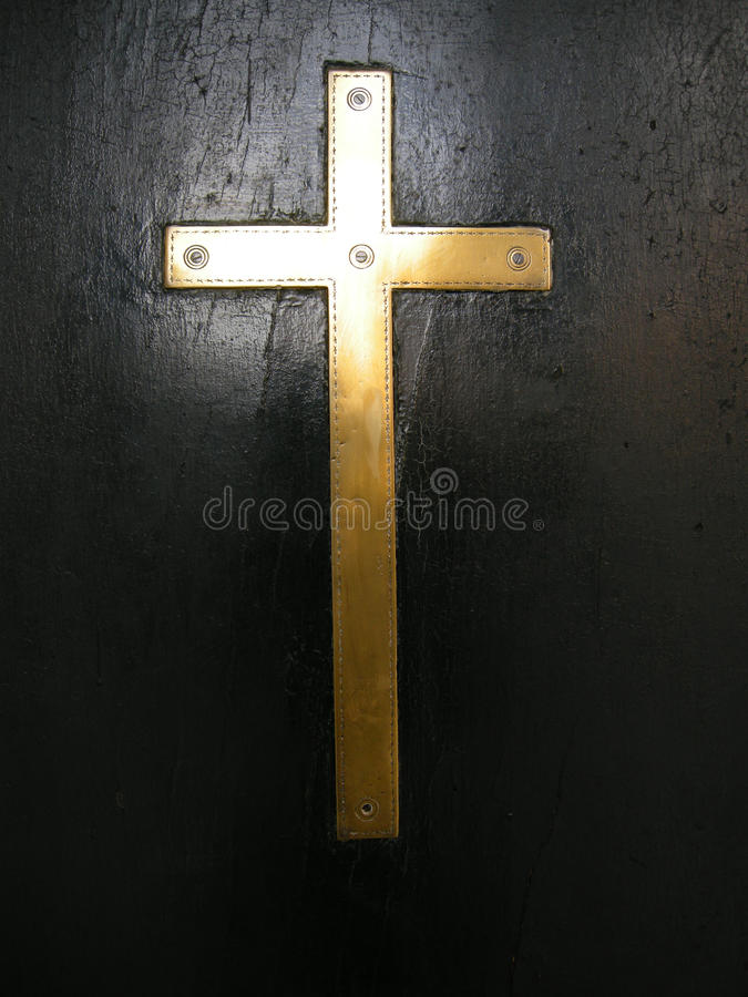 Traversa cristiana immagine stock libera da diritti