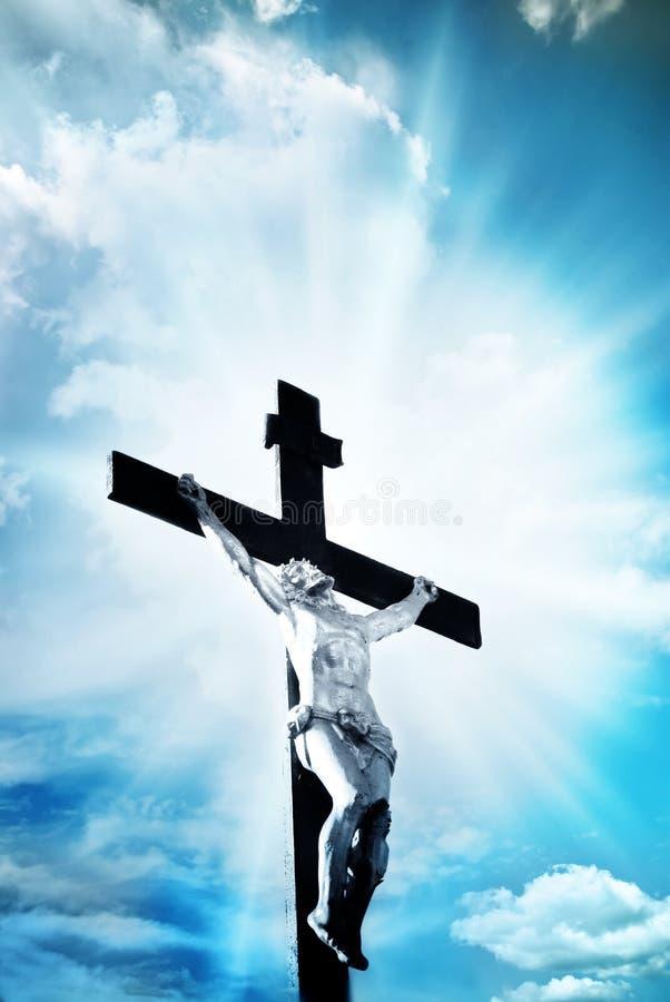 Traversa cristiana immagine stock