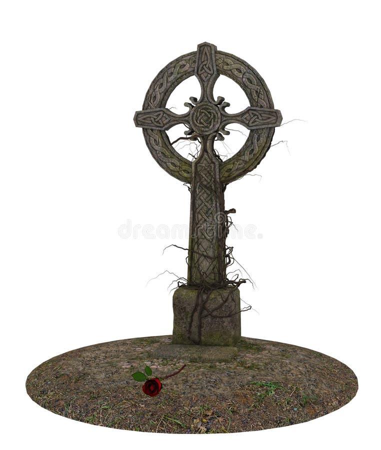 Traversa gotica illustrazione di stock