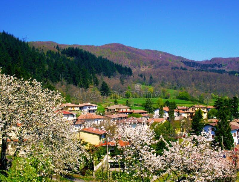 TRAVERSA, wioska między bologna i Florence, zdjęcie stock
