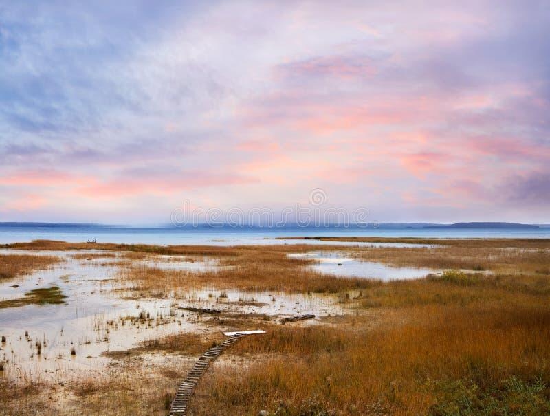 Traverse Bay Marsh stock photography