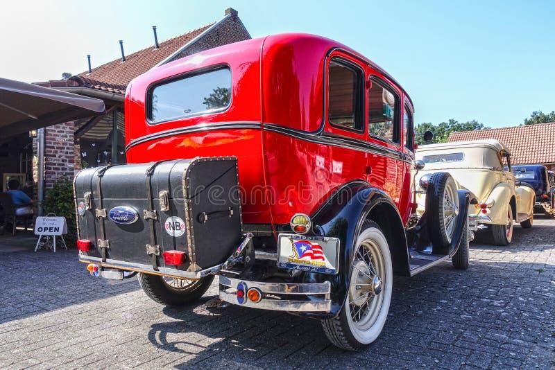 Traversez à gué le modèle A, 1931, voiture d'ancien photo stock