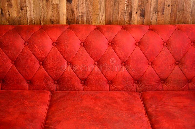 Traversin rouge. image stock