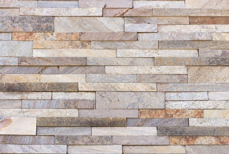 Travertijntegel, de kleur van het baksteenbouwmateriaal stock foto