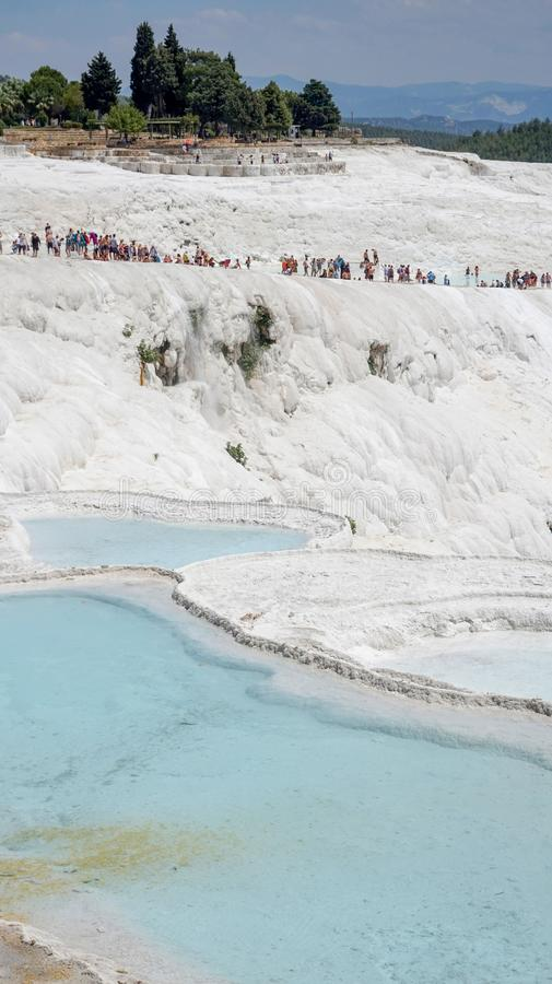 Pamukkale - Wonder of Nature stock photography