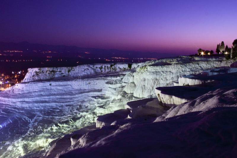 Download Travertine Terraces In Pamukkale Stock Image - Image: 21495199