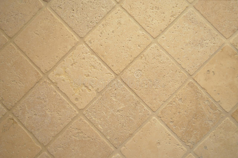 Travertine tiles royalty free stock photography