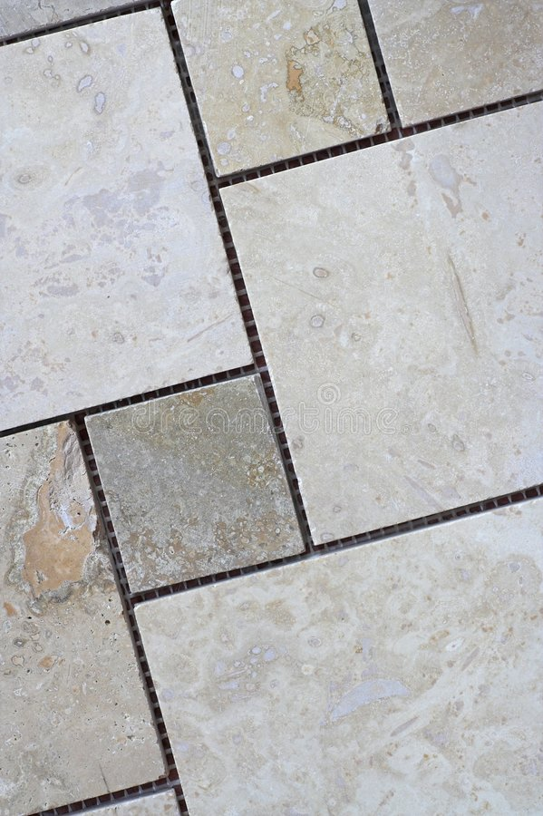 Travertine Tiles stock images