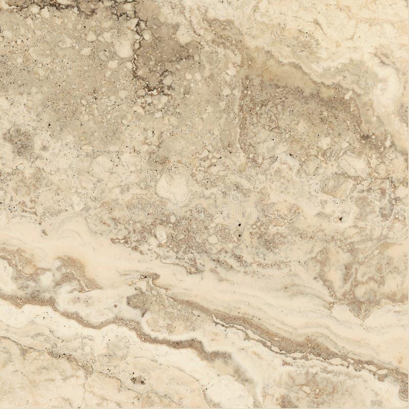 Travertino, textura de mármore, projeto de pedra da telha do fundo fotografia de stock royalty free