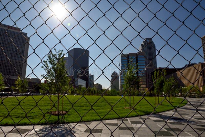 Travesía América, Saint Louis, una ciudad incluida en leyenda imagen de archivo libre de regalías