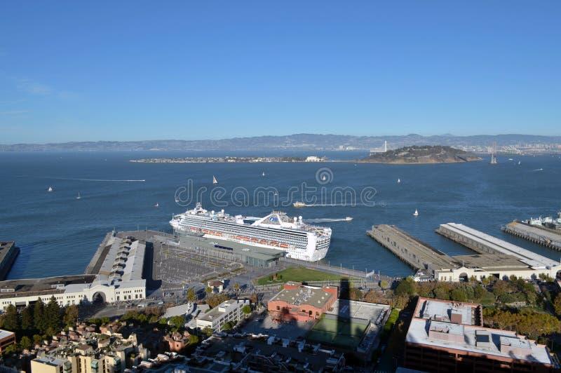 Travesía cerca del embarcadero 39, San Francisco, California fotos de archivo libres de regalías