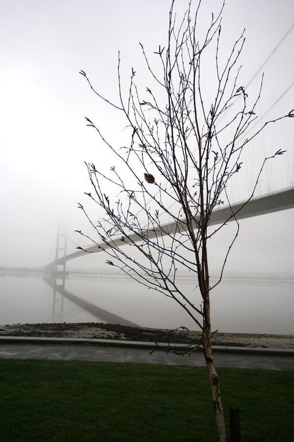 Travesía de río del puente de Humber Kingston Upon Hull imagenes de archivo