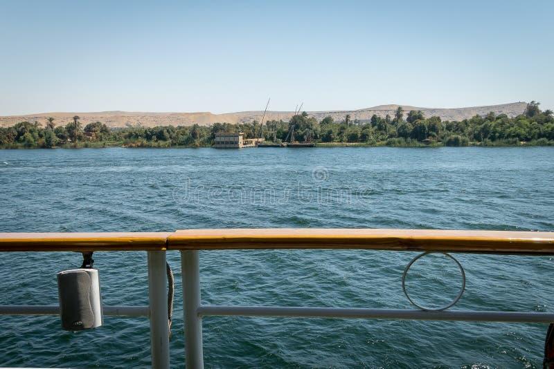 Travesías del Nilo Egipto imagen de archivo