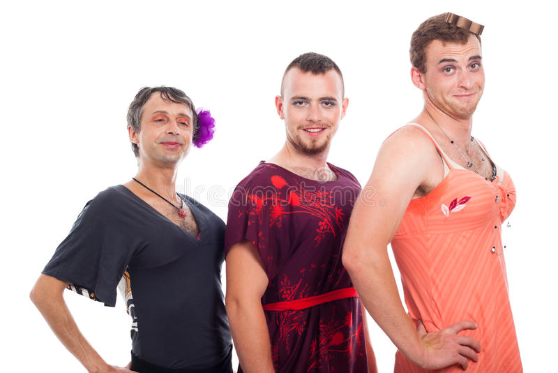 Download Travestis Cross-dressing foto de stock. Imagem de humorous - 26522142