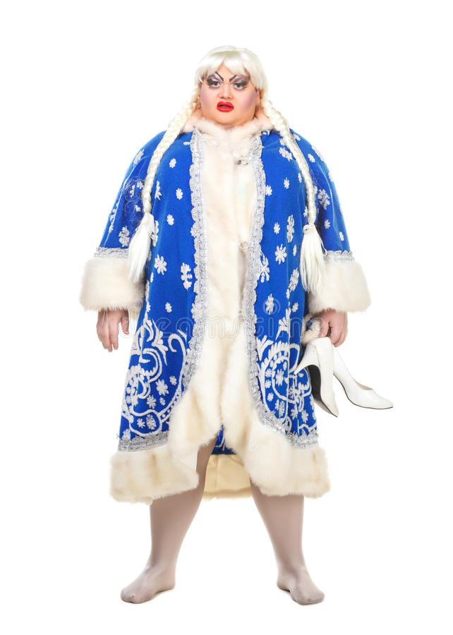 Download Travesty Actor Genre Depict Snow Maiden Stock Photo - Image: 26947842
