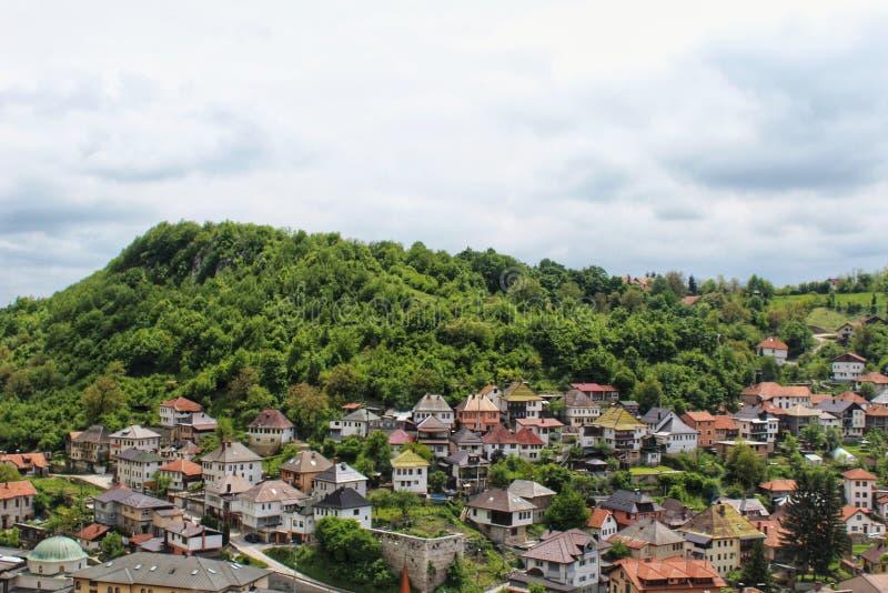 Travnik, Bósnia imagens de stock royalty free