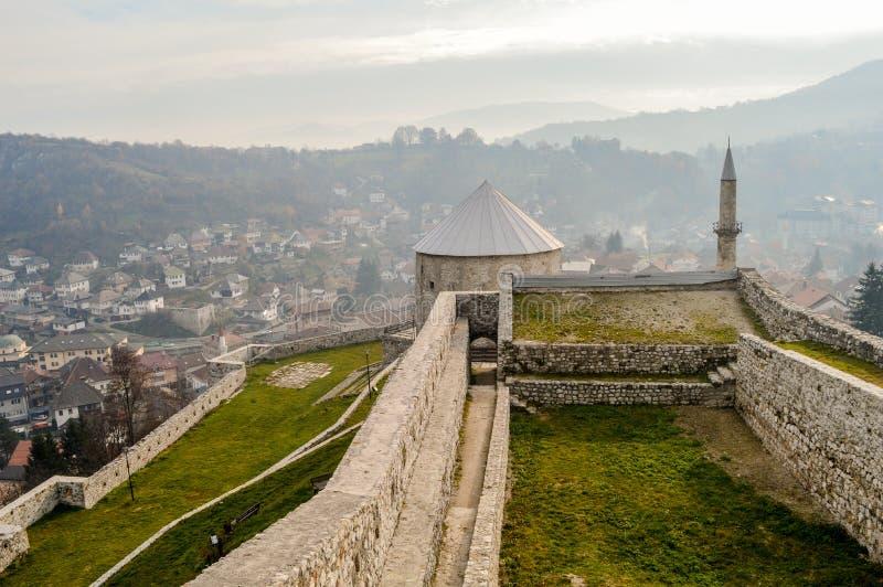 Travnik - Bosnien och Hercegovina royaltyfri bild