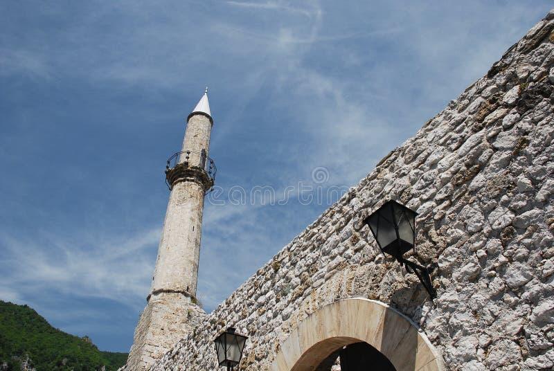 Travnik fästning royaltyfri fotografi
