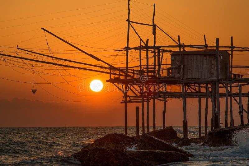 Travocchi的海岸 免版税图库摄影