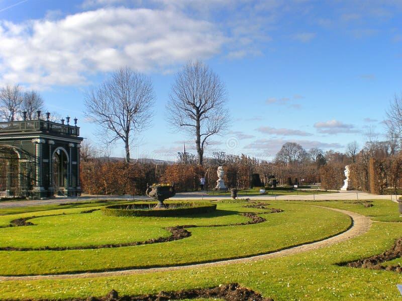 trawa i ogródy w Wiedeń zdjęcia royalty free