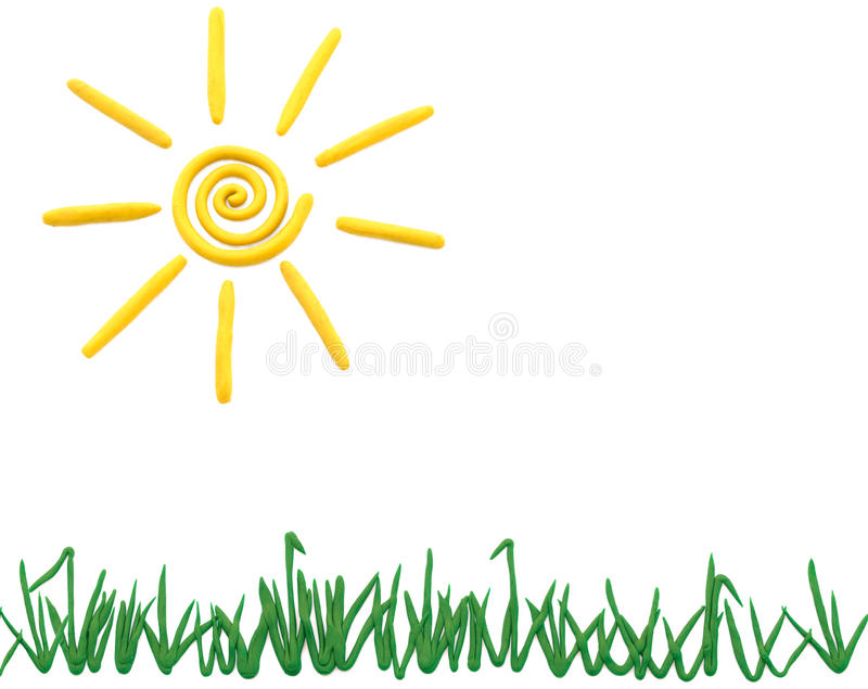 trawy słońce zdjęcie stock
