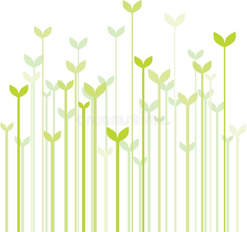 trawy wiosna royalty ilustracja