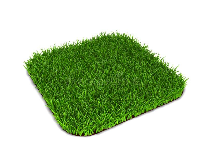 trawy zieleni gazon royalty ilustracja
