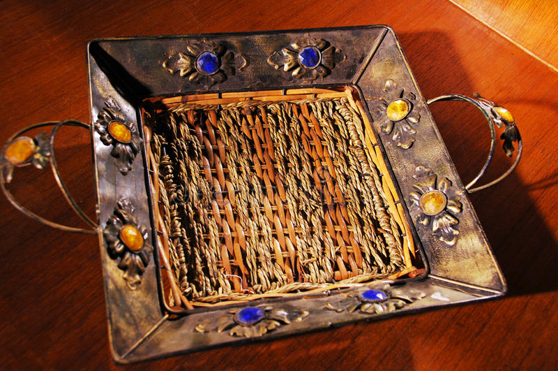 Download Tray stock photo. Image of wood, close, closeup, blue - 12424296
