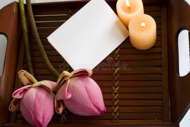 tray bambusowa obrazy stock