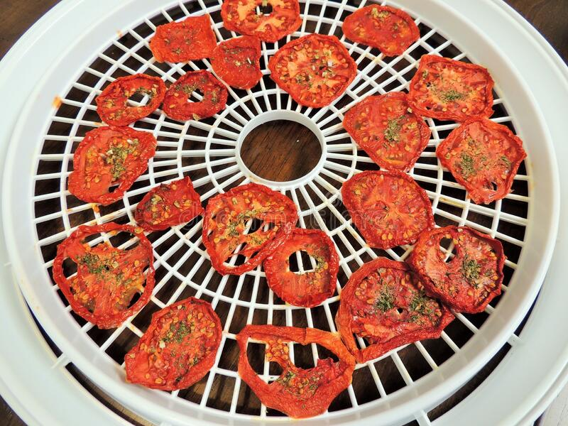 Tray Of Dried Tomatoes Free Public Domain Cc0 Image