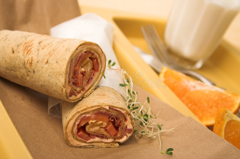 tray lunch zdrowa. fotografia stock