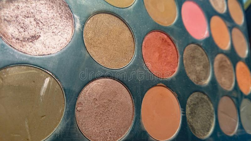 Woman& x27;s Makeup Colours royalty free stock images