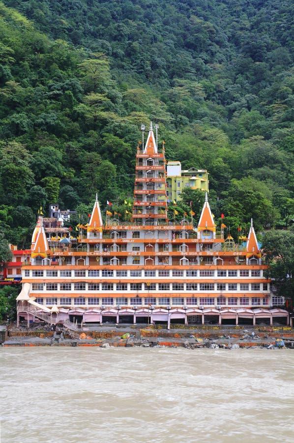 Trayanbakshwar tempel arkivbilder