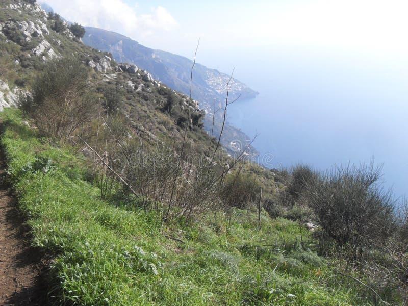 Trayectoria de dioses en el sud Italia fotos de archivo libres de regalías