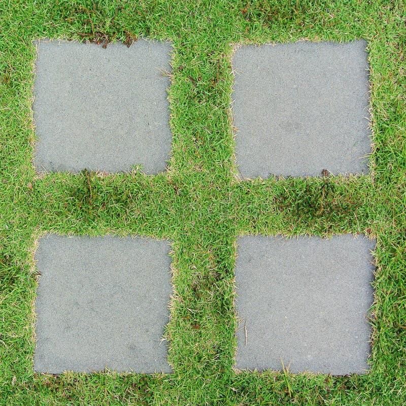 Trayectoria de piedra de doblez del jardín fotos de archivo libres de regalías