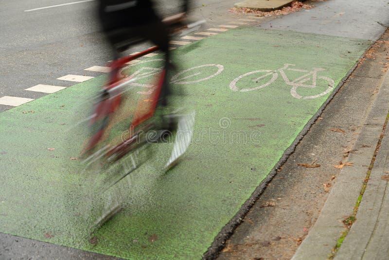 Trayectoria urbana del ciclo, Vancouver foto de archivo libre de regalías
